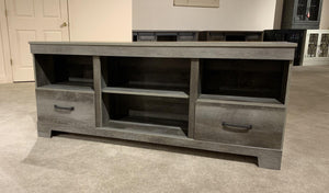 "WEEKLY or MONTHLY. Gambrell 65"" Two Drawer Entertainment"