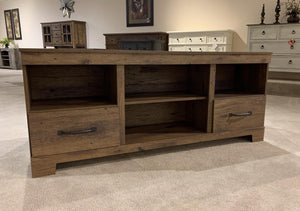"WEEKLY or MONTHLY. Cheyenne 65"" Two Drawer Entertainment"