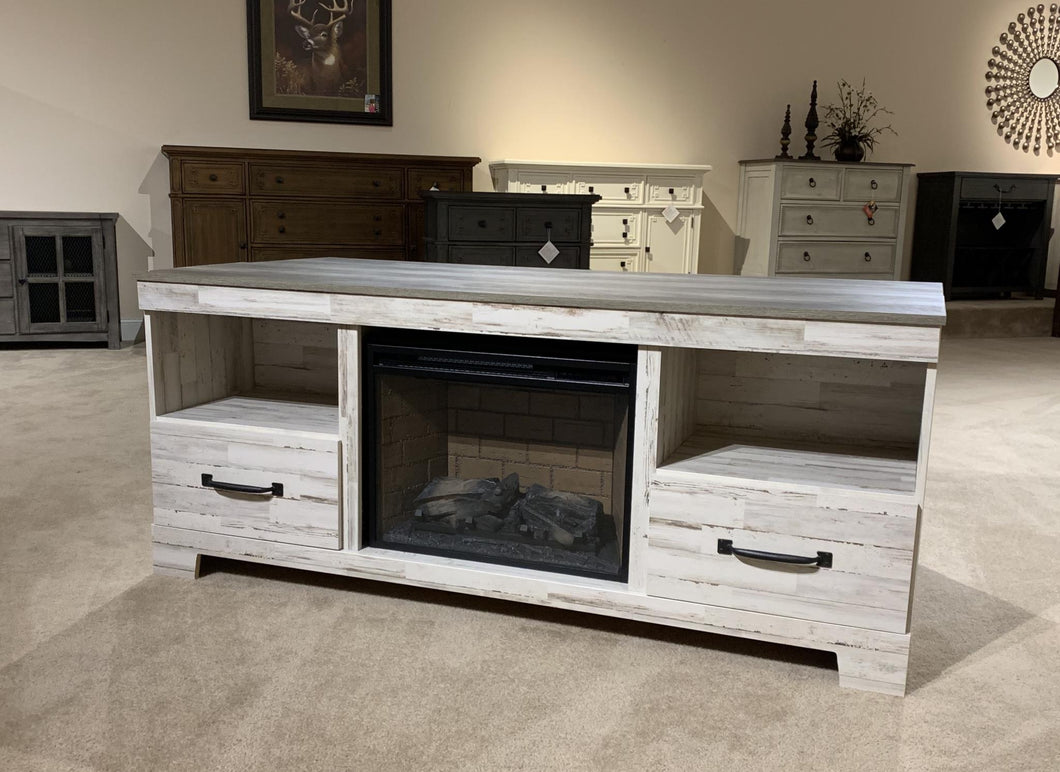 WEEKLY or MONTHLY. Aspen Two Drawer Entertainment Console