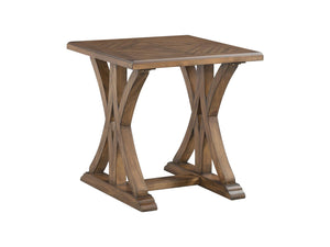 WEEKLY or MONTHLY. Solid Pine Criss Cross Cocktail Table & 2 End Tables
