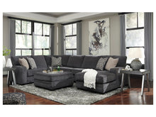 WEEKLY or MONTHLY. Tarcling Slate Reversible Chaise Sectional