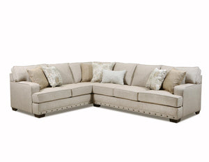 WEEKLY or MONTHLY. Old Forge Linen Sectional