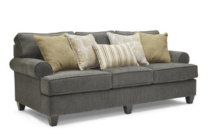 WEEKLY or MONTHLY. Maggie Linen Couch Set