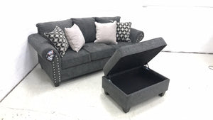 WEEKLY or MONTHLY. Nail Trim Reader Sofa Set