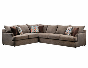 WEEKLY or MONTHLY. Granstand Walnut Sectional