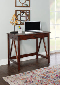Titan Walnut Home Office Desk