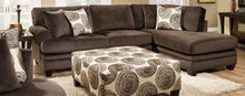 WEEKLY or MONTHLY. Swirls of Chocolate Sectional
