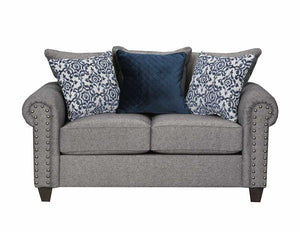 WEEKLY or MONTHLY. Della Linen Couch Set