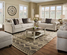 WEEKLY or MONTHLY. Della Linen Sofa Set