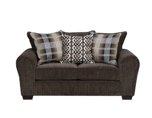 WEEKLY or MONTHLY. Parks Tiger Eye Couch Set
