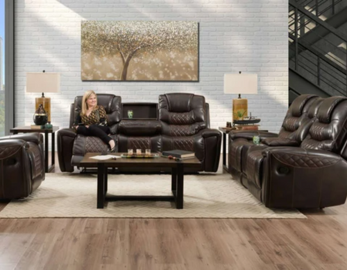WEEKLY or MONTHLY. Brecken Ridge Diamondback Sofa and Loveseat