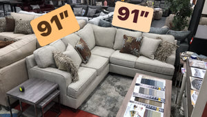 WEEKLY or MONTHLY.  Cute Elegance Sectional