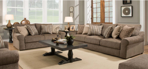 WEEKLY or MONTHLY. Bellamy Teddy Cocoa Sofa & Loveseat