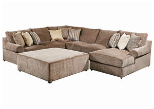 WEEKLY or MONTHLY. Bellamy Teddy Cocoa Chofa Sectional