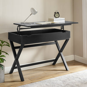 Awesome Black Lift Top Desk