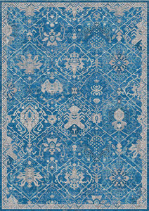Solid Ocean Blue Beautifully Designed Rug