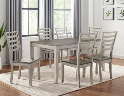 WEEKLY or MONTHLY. Abacus Rectangular Dining Table & 6 Chairs