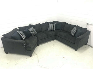 WEEKLY or MONTHLY. Albany Slate Couch Set