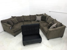 WEEKLY or MONTHLY. Albany Truffle Puffle Sectional