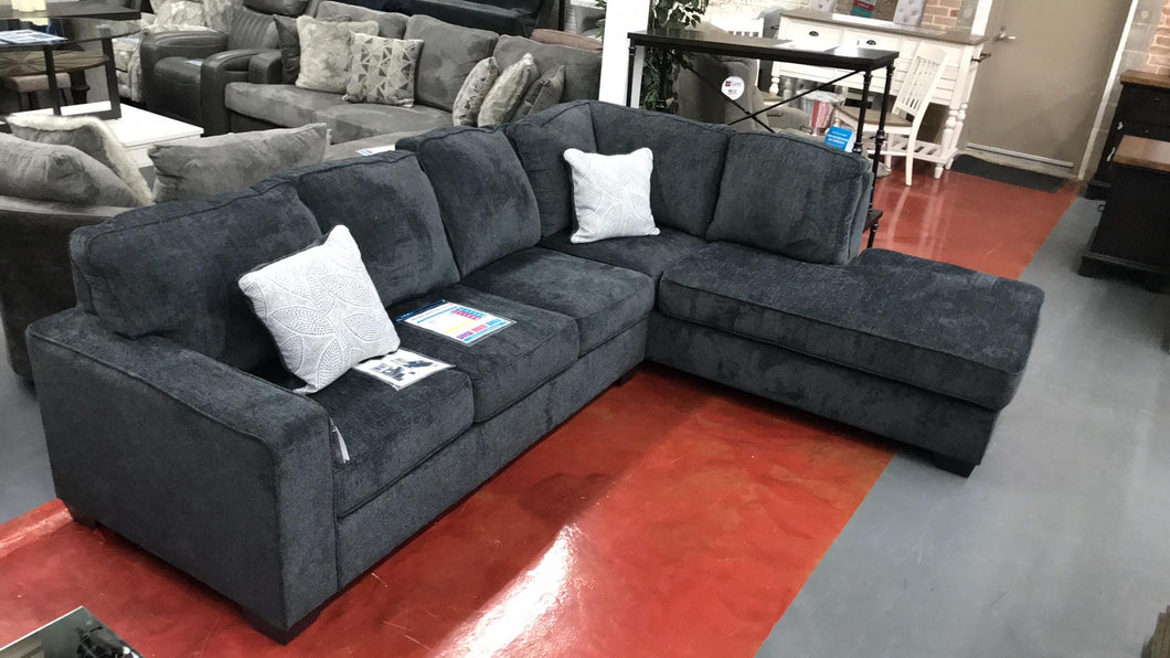 WEEKLY or MONTHLY. Beautiful Altaira Black Sectional