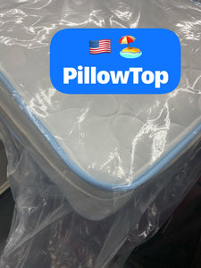 WEEKLY or MONTHLY. American Beach Pillow Top Twin Mattress