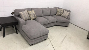 WEEKLY or MONTHLY. Gorgeous Annalise Sectional