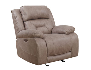WEEKLY or MONTHLY. Ariana Desert Sand Double Power Recliner