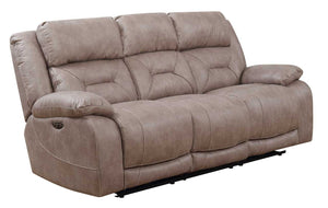 WEEKLY or MONTHLY. Ariana Desert Sand Double POWER Couch Set