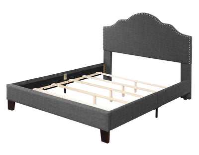 WEEKLY or MONTLY. Charcoal Madison Bed