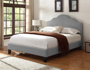 WEEKLY or MONTLY. Charcoal Madison QUEEN Bed