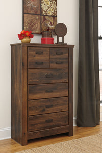 WEEKLY or MONTHLY. Queendale Dark Brown Queen Panel Bedroom Set
