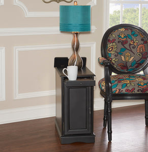 WEEKLY or MONTHLY. Butler Black Accent Table