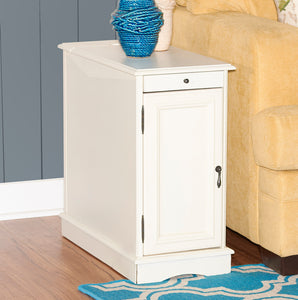 WEEKLY or MONTHLY. Butler White Accent Table