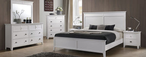 WEEKLY or MONTHLY. Cottage Bay White Bedroom Set