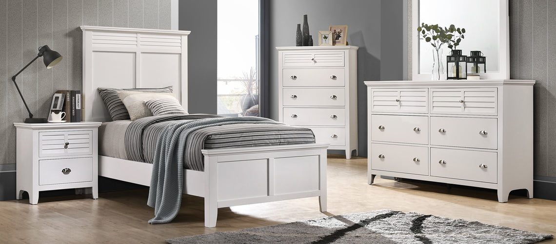 WEEKLY or MONTHLY. Cottage Bay White Bedroom Set – Community ...