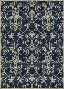 Thunder Blue Cambridge Rug