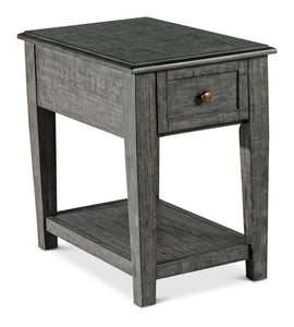 WEEKLY or MONTHLY. Kent Grey Coffee Table and End Table with USB