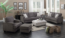 WEEKLY or MONTHLY. Carter Grey Couch Set