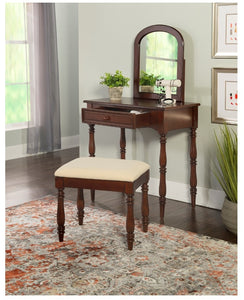 Chadwick Bossy Vanity and Stool