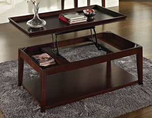 WEEKLY or MONTHLY. Clemson Lift Top Cocktail Table & End Table