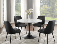 WEEKLY or MONTHLY. Light Gray Cool Fax Marble Top Table & 4 Chairs