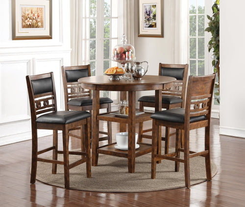WEEKLY or MONTHLY. Gia Pub Dining Set in Brown