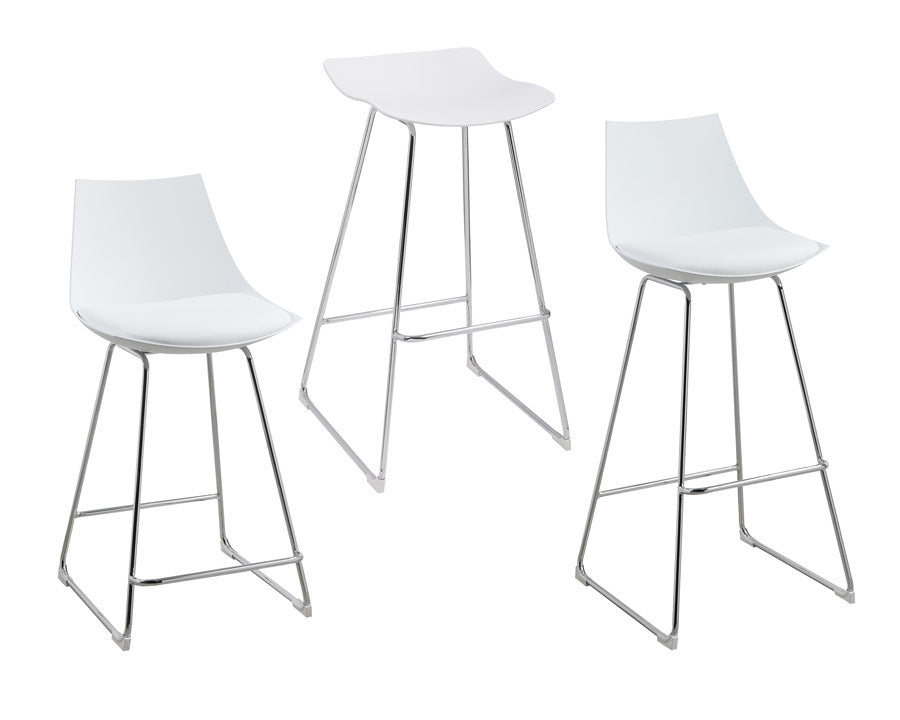 Finding Neo Modern White Chair (2-Pack)