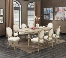 "WEEKLY or MONTHLY. Interlude Expansion 28"" Leaf Table & 4 Side Chairs"