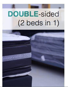WEEKLY or MONTHLY. Double Palace Twin Mattress