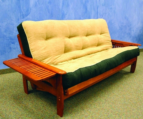 WEEKLY or MONTHLY. Forever Denver Full Futon Frame in Java or Dark Cherry