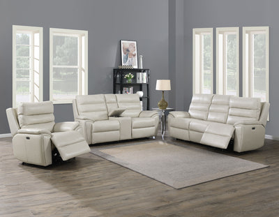 WEEKLY or MONTHLY.  Double Power Tuvalu Genuine Leather Couch Set