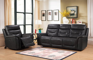 WEEKLY or MONTHLY. Bullard Genuine Leather Power Couch Set