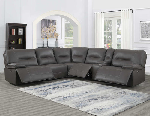 WEEKLY or MONTHLY. Charming Ellen Power Reclining Sectional
