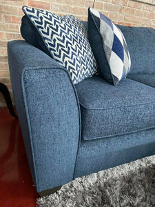 WEEKLY or MONTHLY. Endurance Denim Sectional